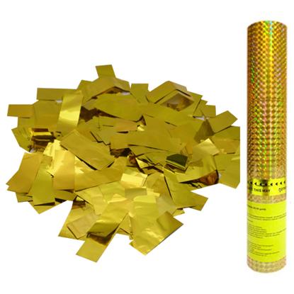 Изображение Пневмохлопушка Золотое конфетти 30 см